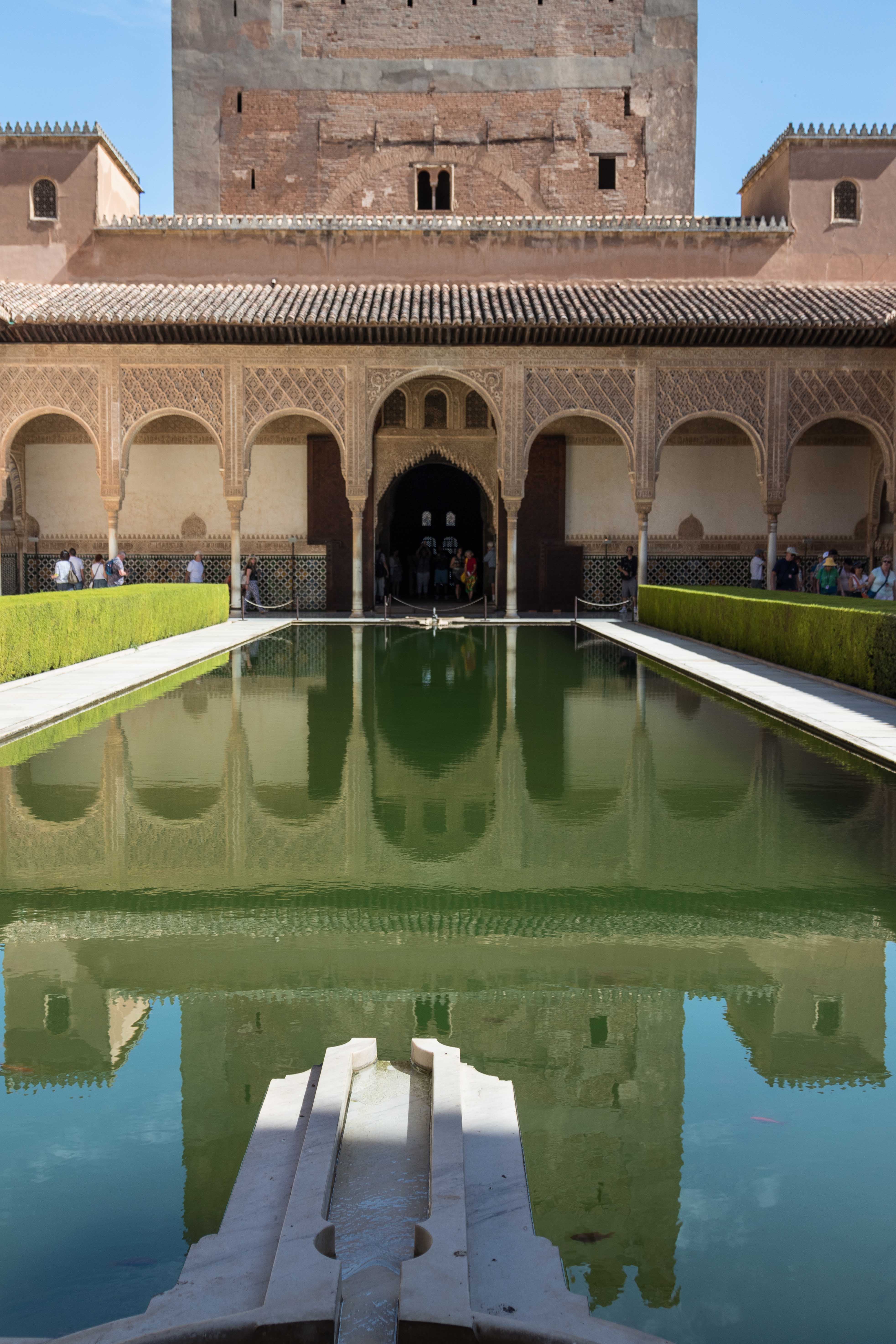 Alhambra Reflecting Pool | https://www.roseclearfield.com
