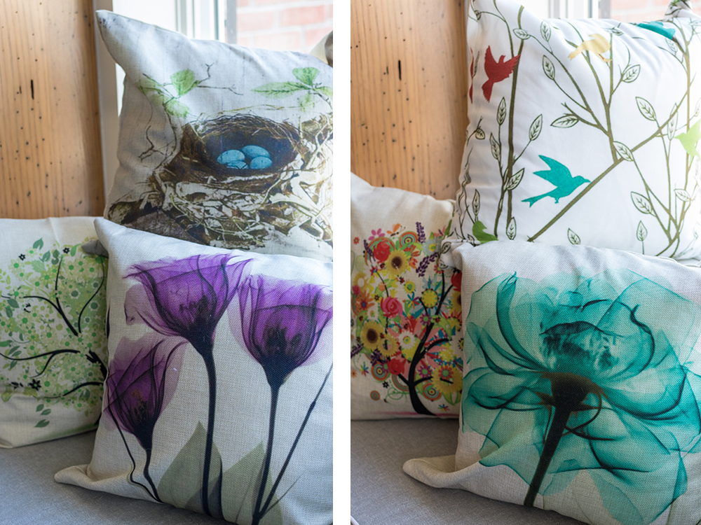 Spring Throw Pillows From Amazon | http://www.roseclearfield.com