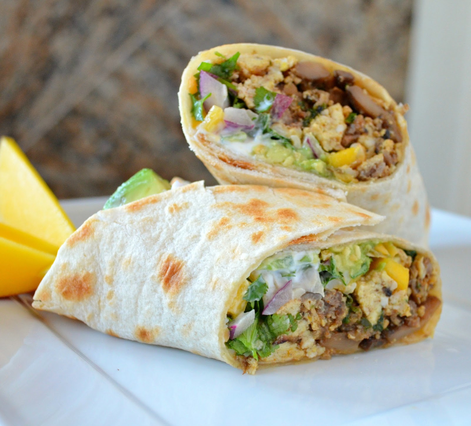 Breakfast for Dinner Ideas - Breakfast Burritos Serena Bakes via Simply from Scratch | http://www.roseclearfield.com