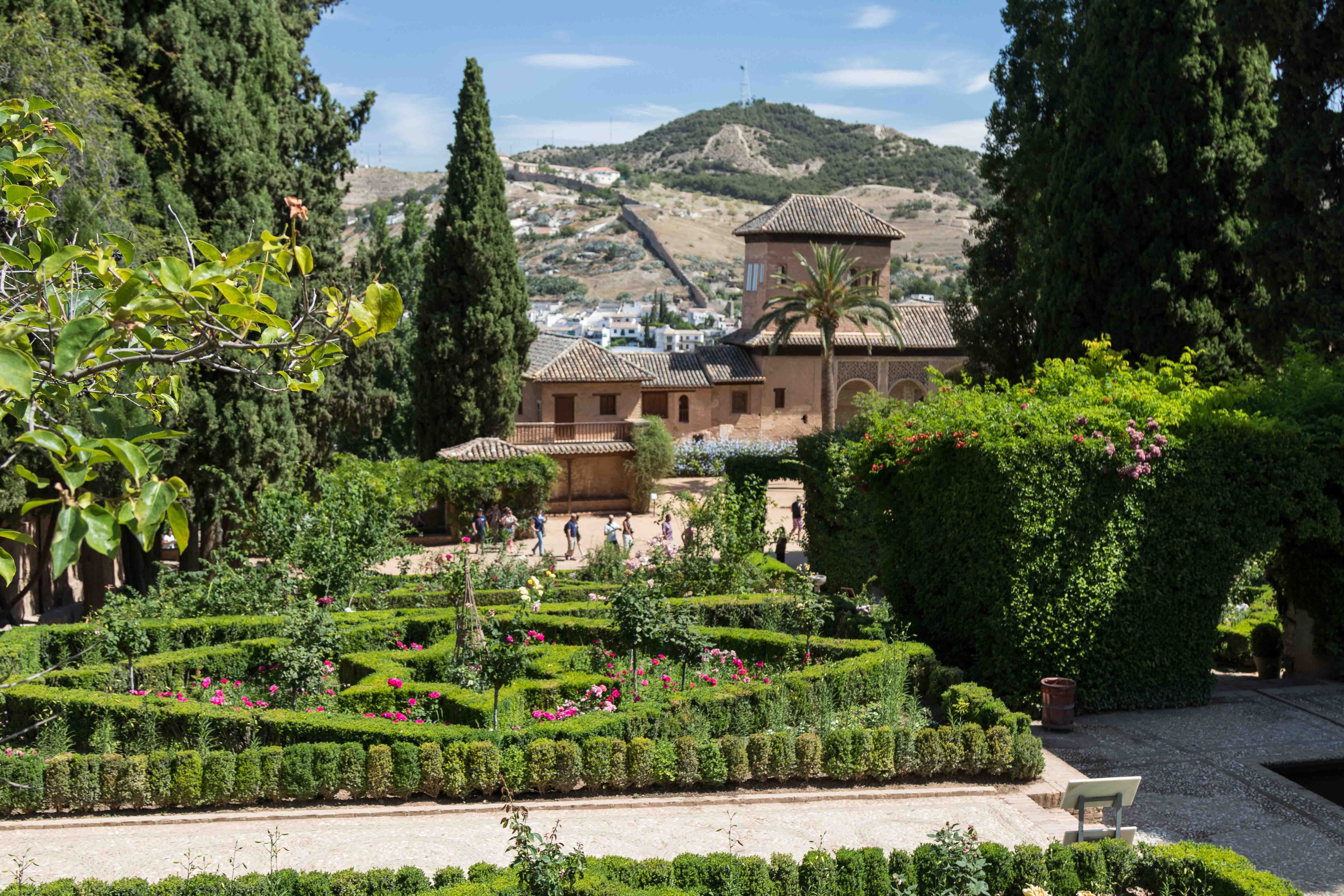Mediterranean Cruise: Alhambra Palace, Granada, Spain | http://www.roseclearfield.com