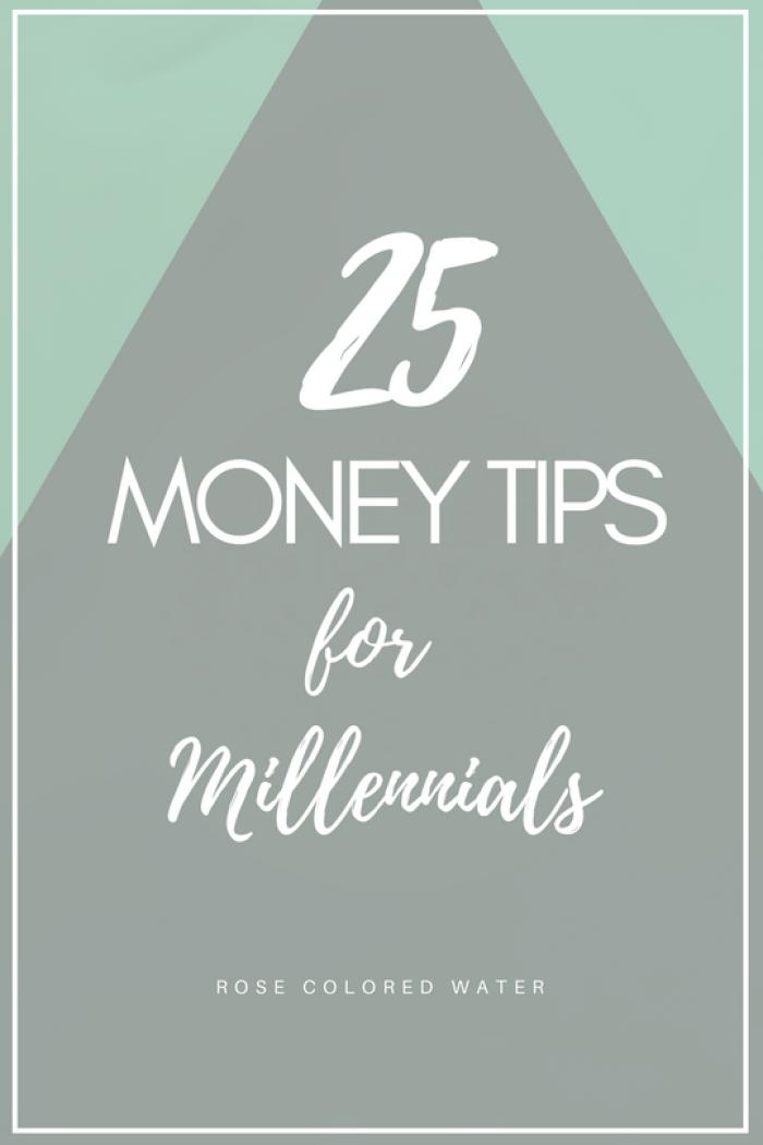 25 Money Tips for Millennials