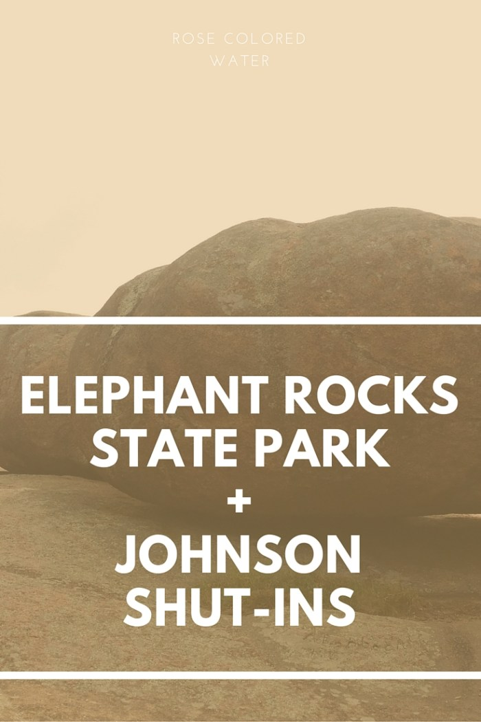 Elephant Rocks State Park and Johnson Shut Ins | Missouri
