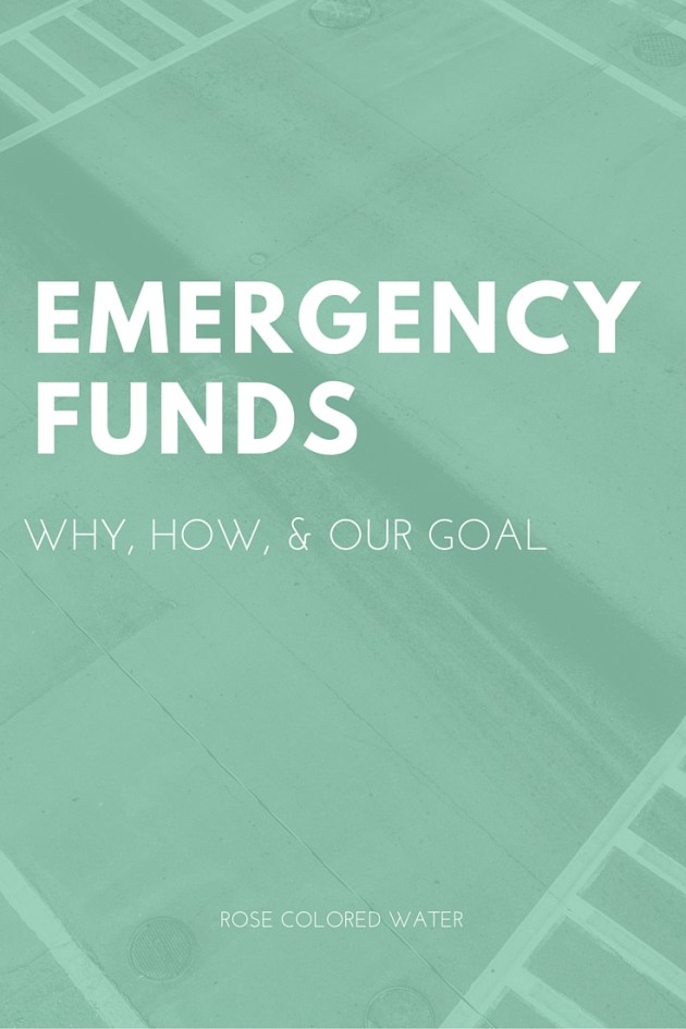 Emergency Funds | How We're Reaching Ours