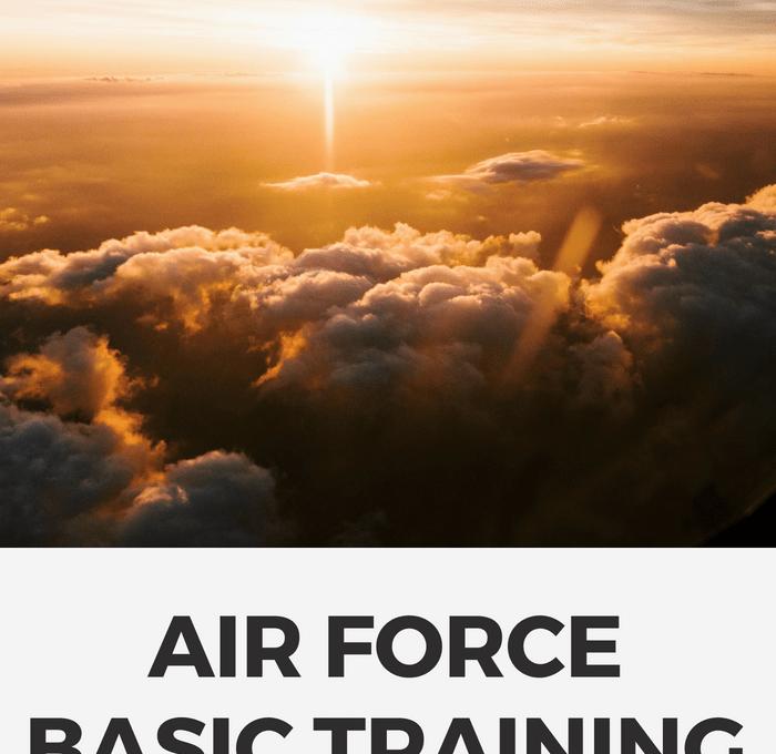 Air Force Basic Training Zero Week Walkthrough | Rose Colored Water