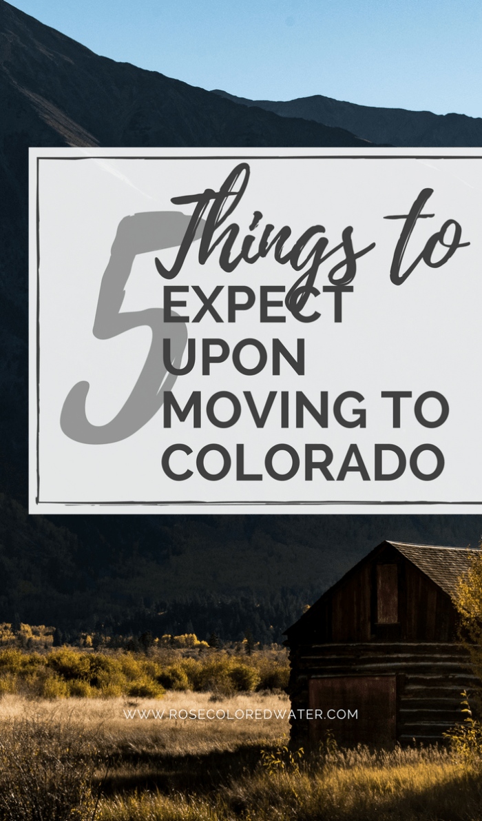5 Thngs to Know about Moving to Colorado | Rose Colored Water #Colorado #Denver #travel