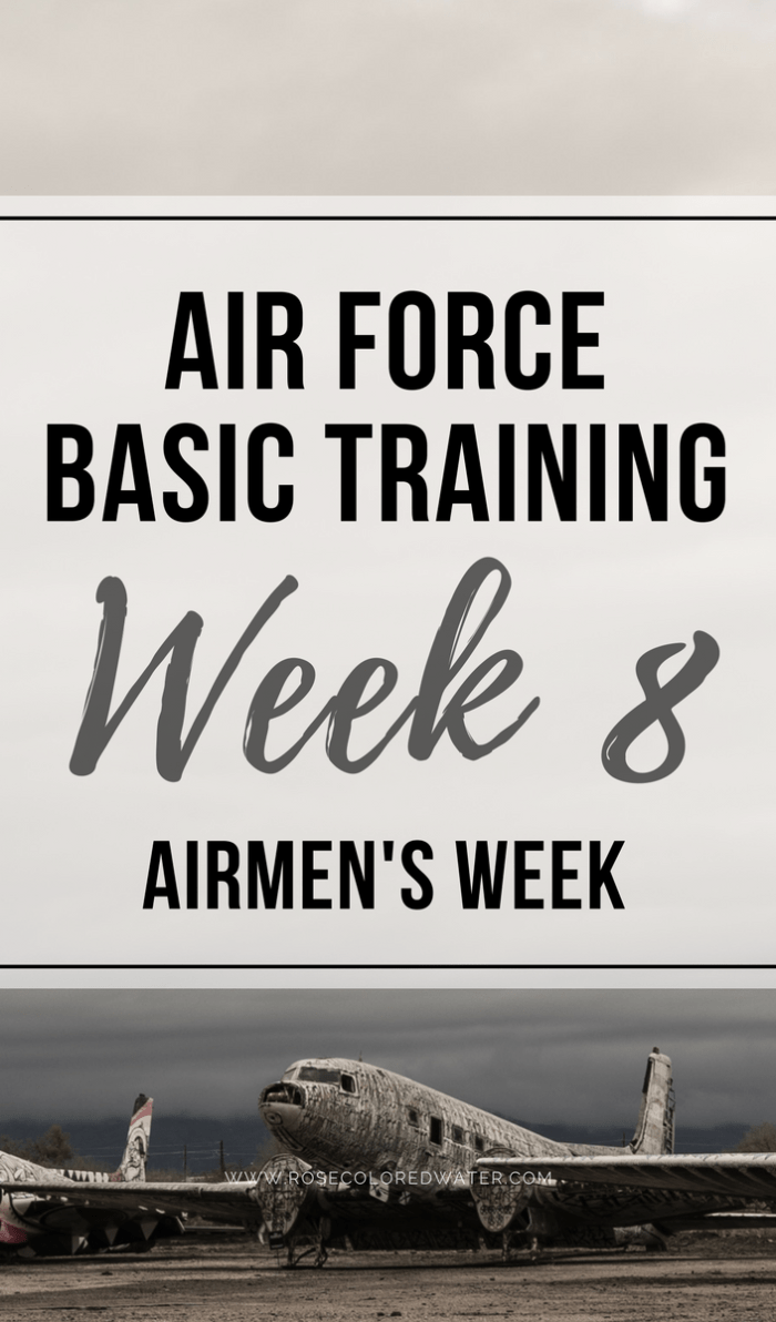 Airmen's Week | Air Force Basic Training | Military | Rose Colored Water #enlistment #airforce