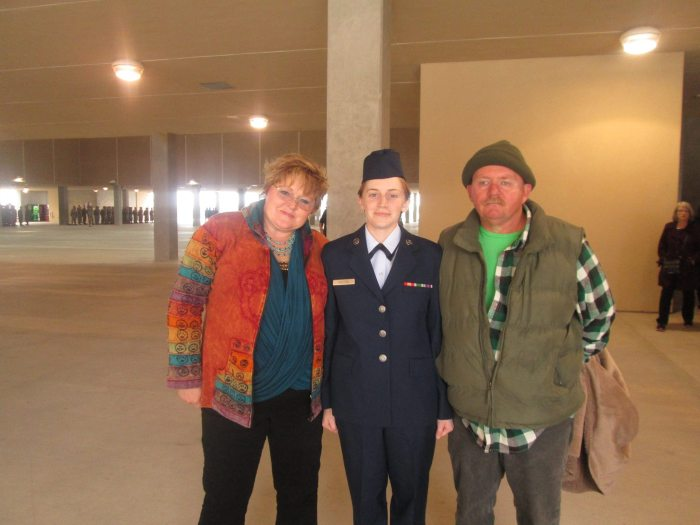 Basic Training Graduation | Air Force | Rose Colored Water