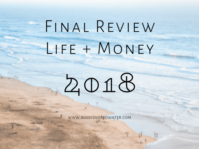 Final Review | 2018 | Life & Money
