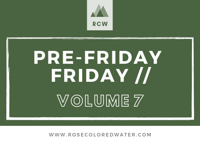 Pre-Friday Friday   Vol. 7