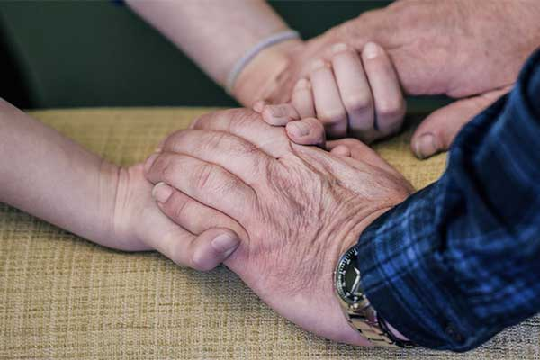 helping someonw who is bereaved