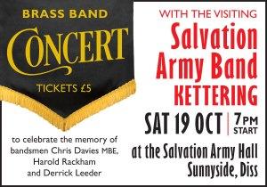 Salvation Army Brass Band Concert