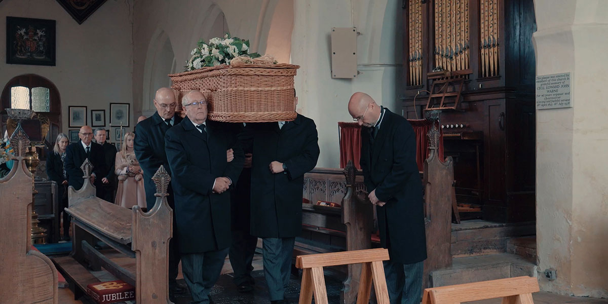 What happens at a funeral
