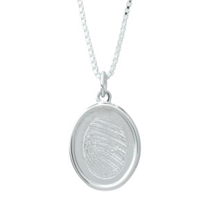 Legacy Expressions Indent Oval Silver