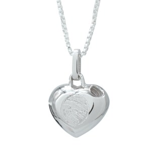 Legacy Expressions Silver Heart Urn
