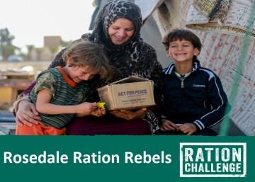 Rosedale Ration Challenge