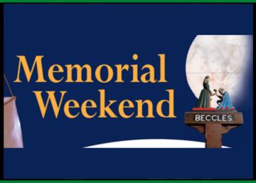 Beccles Memorial Weekend