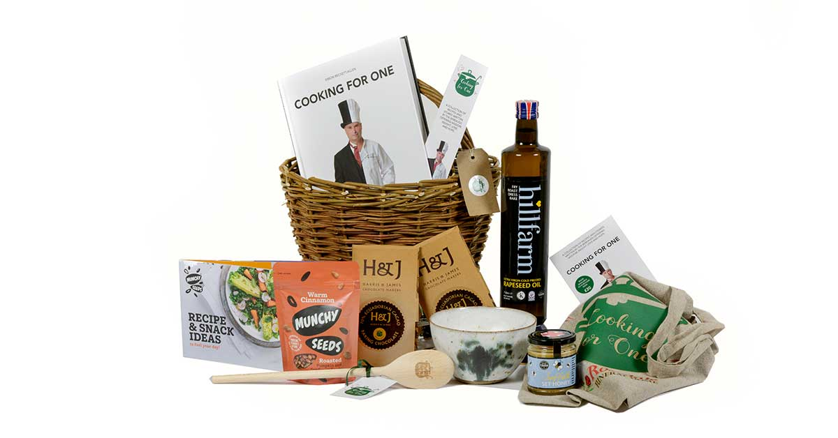 Cooking for One hamper for sale