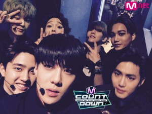 M Count Down, EXO M Countdown 2015,