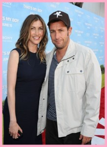 adam sandler and jackie titone, is jackie sandler related to adam sandler, spouse jacqueline jackie titone (2003–present), adam sandler dan istri, adam sandler dan patrick, Adam Sandler n Jackie Titone