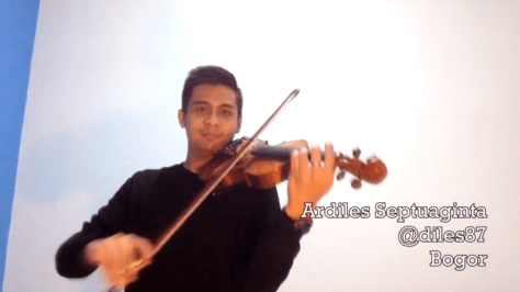 The Corrs ardiles septuaginta violin