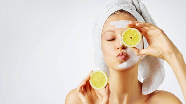 fruits et produits cosmétiques
