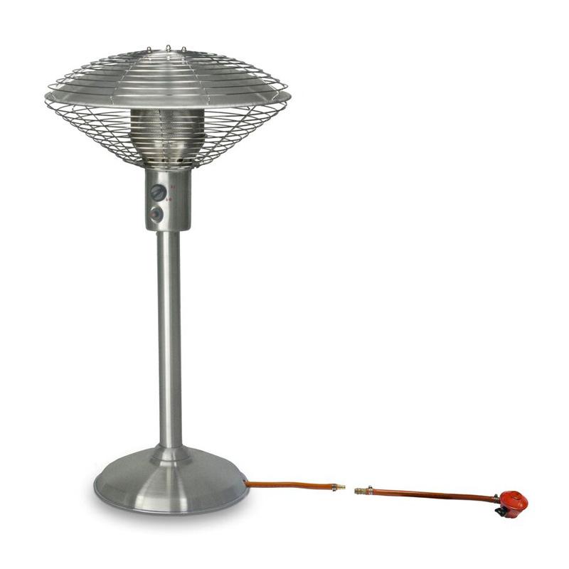 sarara patio heater stainless steel tabletop patio heater