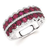 Ostbye Ruby & Diamond Ring