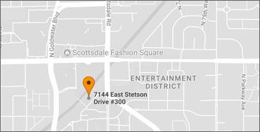 Us Map Scottsdale Arizona - Scottsdale fashion square map