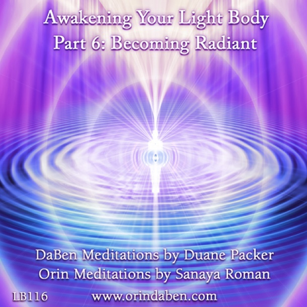 Light Body Grads art work image from the cover of LuminEssence Basic Awakening Your Light Body Volume 6