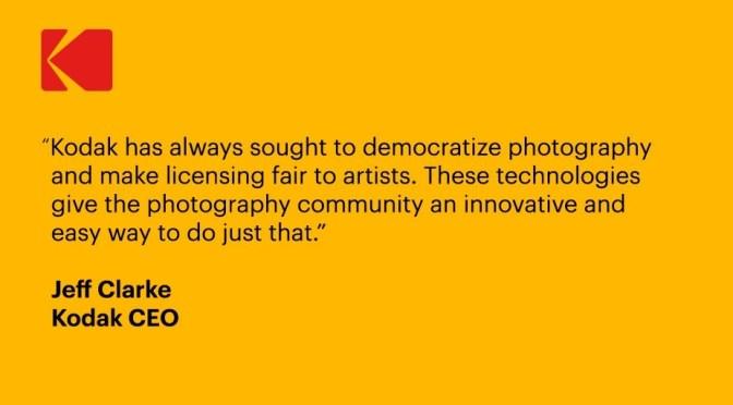 Kodak Announcement