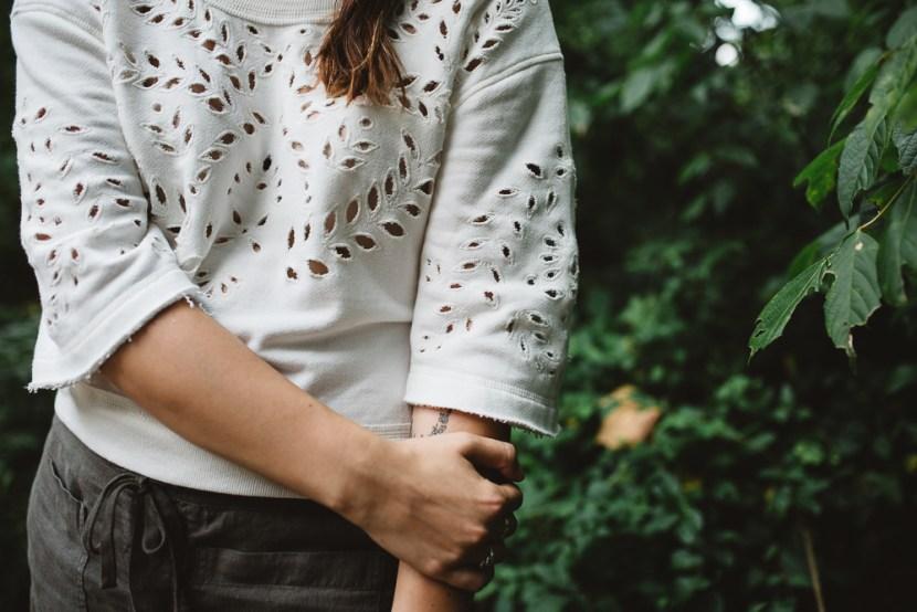 Rosemary & Time   Wardrobe Confidential 14 White Sweatshirt-7
