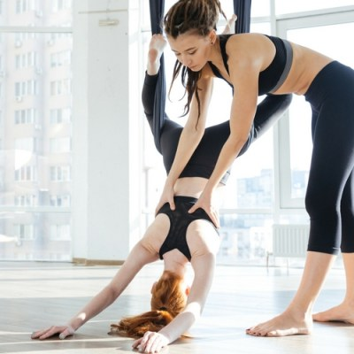 Workout Review: Aerial Yoga