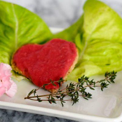 Valentine's Day White Bean Hummus