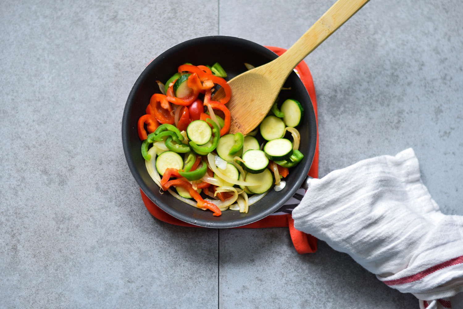 Veggies for Vegetable Quesadillas