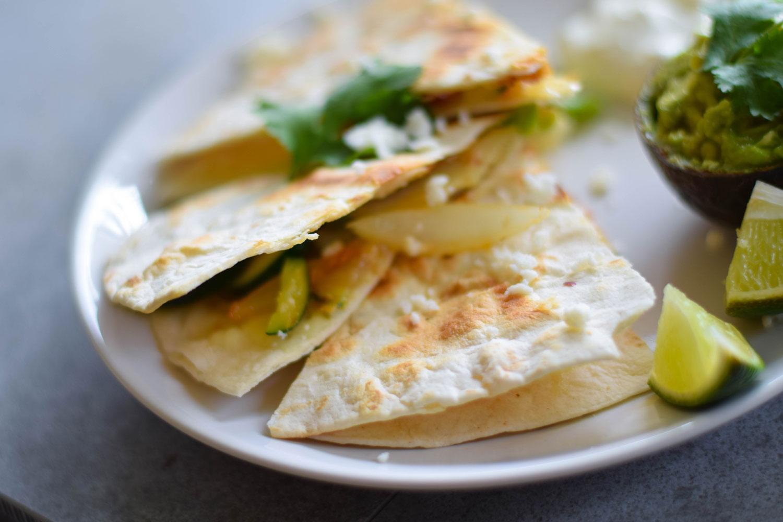 Vegetable Quesadillas