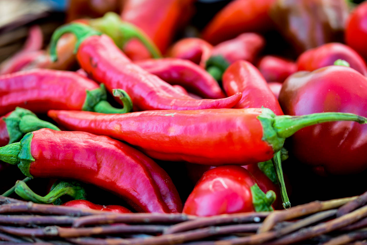 5 things I learned from joining a CSA this summer, red peppers
