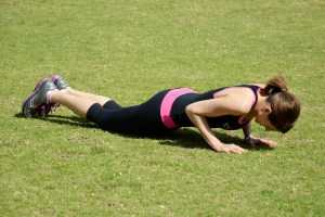 FIGURE 3 TRICEP PUSH UPS