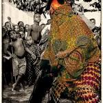 Masked Dancer of Gelede Tribe