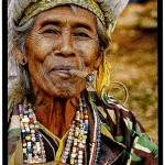 Thailand: H'mong woman enjoys a cheroot