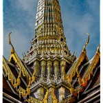 a bejeweled temple in Bangkok's Grand Palace
