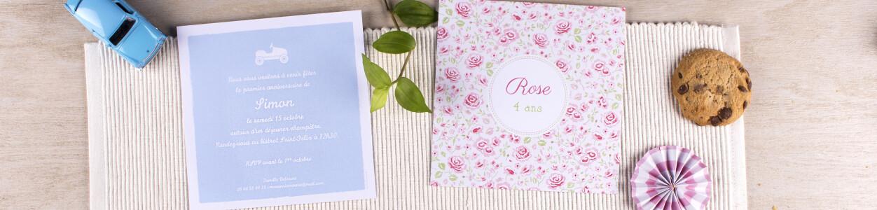 Texte Pour Cartes Dinvitation Anniversaire Atelier Rosemood