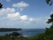 Palau - Vue du sentier nature au dessus du Palau Pacific Resort