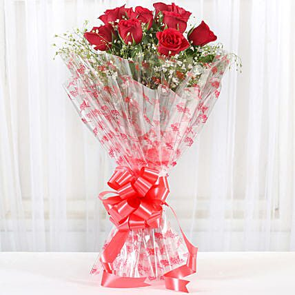 Red Roses Exotic Bouquet