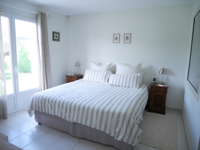Chambre murs Blancs