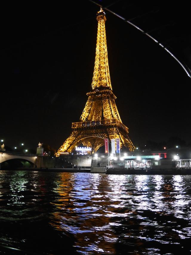 Paris en bateau Tour Eiffel