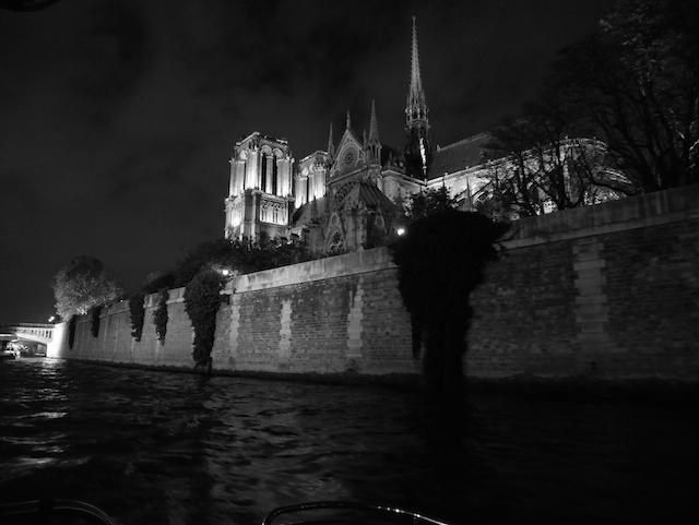 Sortie : Paris en bateau