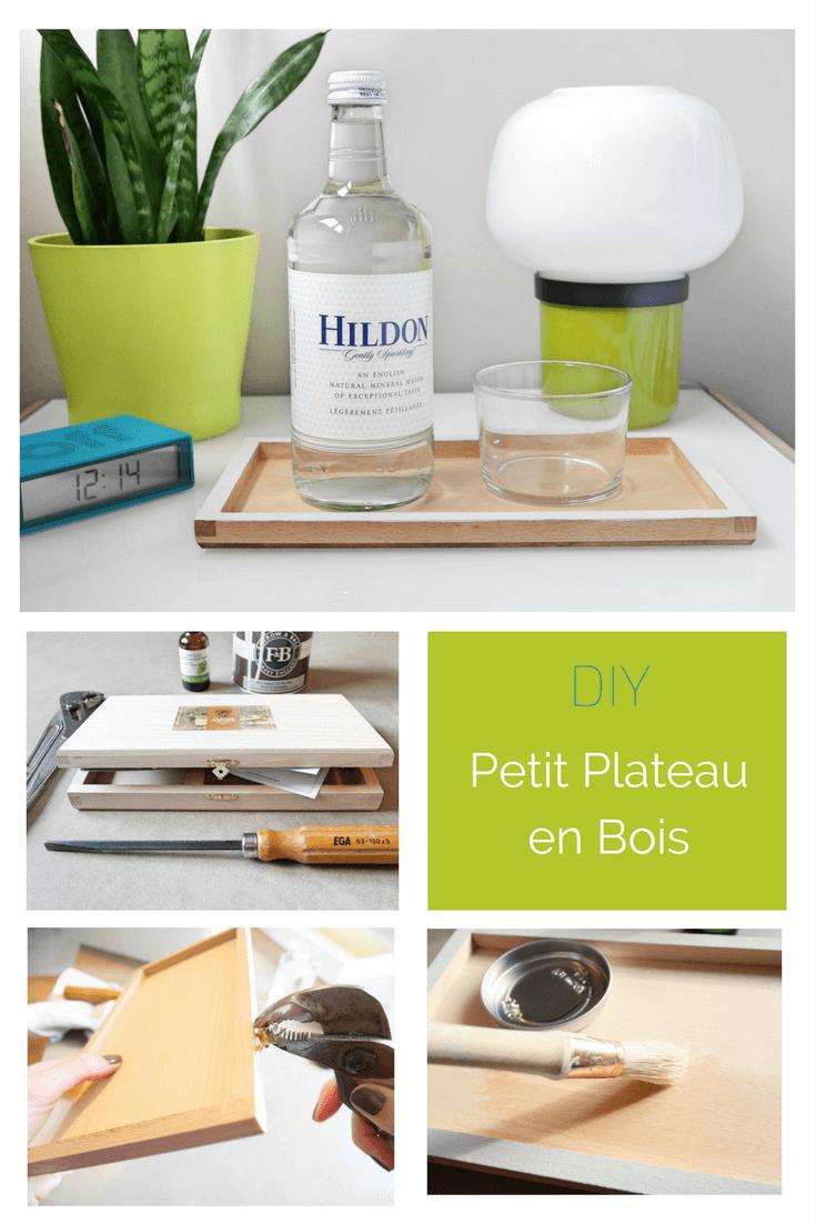DIY PETIT PLATEAU EN BOIS SCANDINAVE