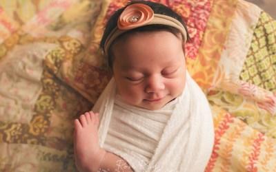 Baby Charlotte   Newborn Photographer Orlando   Baby Girl Winter Park Florida