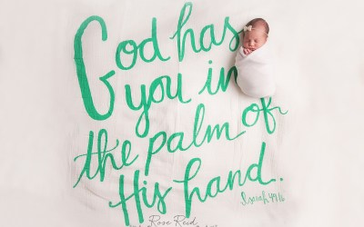 Myla Muriel | Mt Dora Newborn Photographer | Magnolia Market Newborn Swaddle by Joanna Gaines