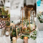 20 Elegant Succulent Wedding Centerpiece Ideas Roses Rings